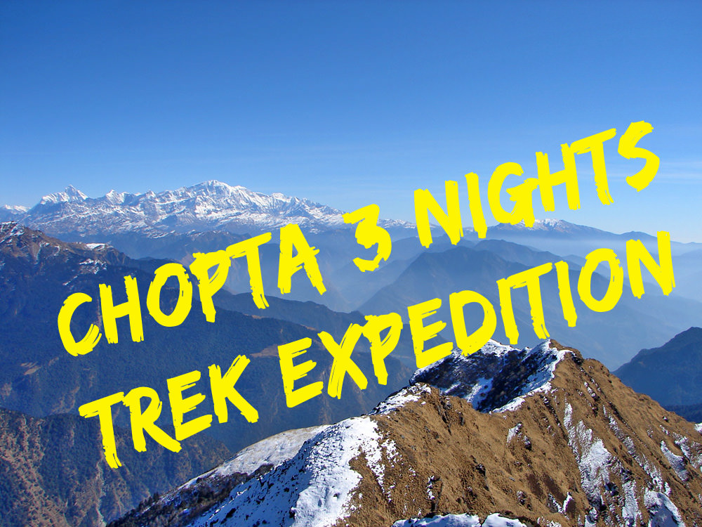 Chopta - Chandrashila Trekking Expedition Photos