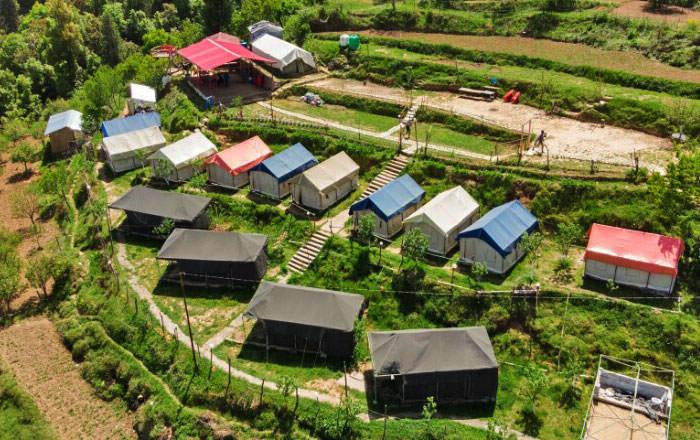 Budget Camping in Kanatal Photos