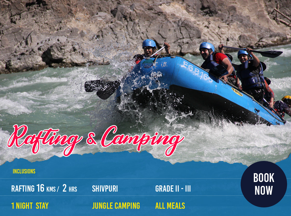 Rishikesh 1 Night Camping and Rafting Tour Package Photos