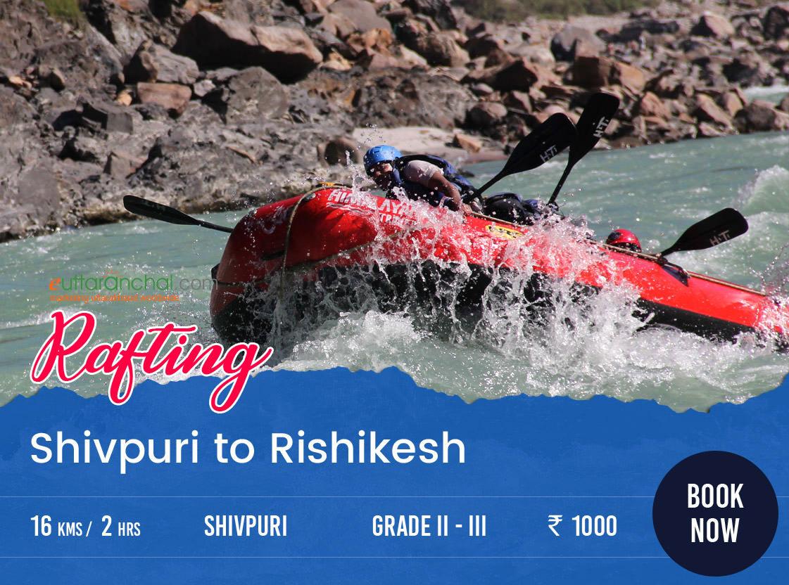 Shivpuri to Rishikesh Rafting Booking Photos