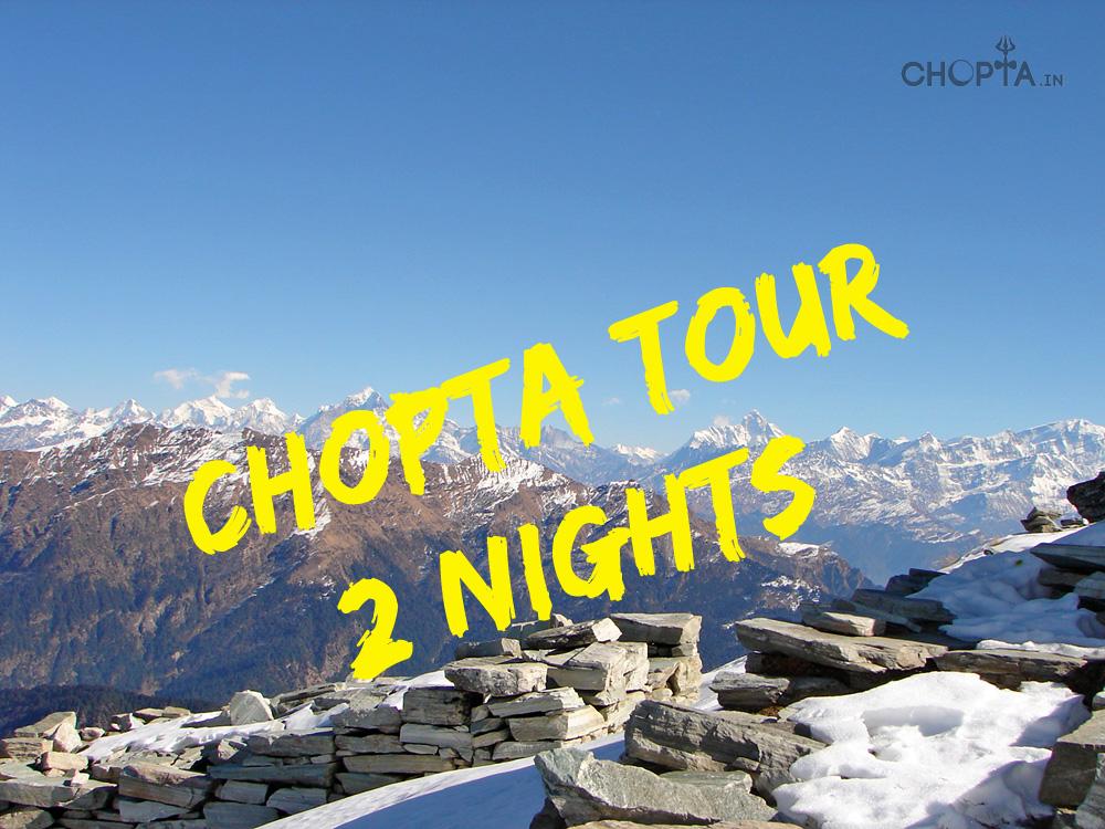 Chopta 2 Nights Trekking Tour with Tungnath Chandrashila Photos