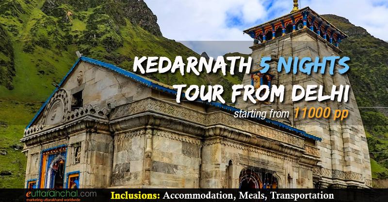 Kedarnath 5 Nights Package From Delhi Photos
