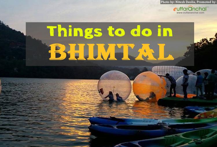 Activities In Bhimtal