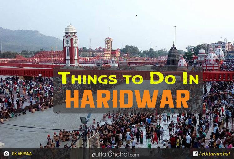 Activities In Haridwar
