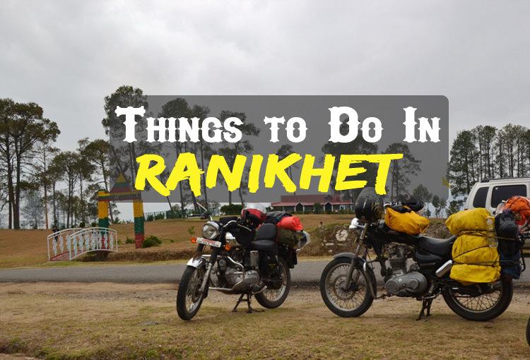 Activities In Ranikhet