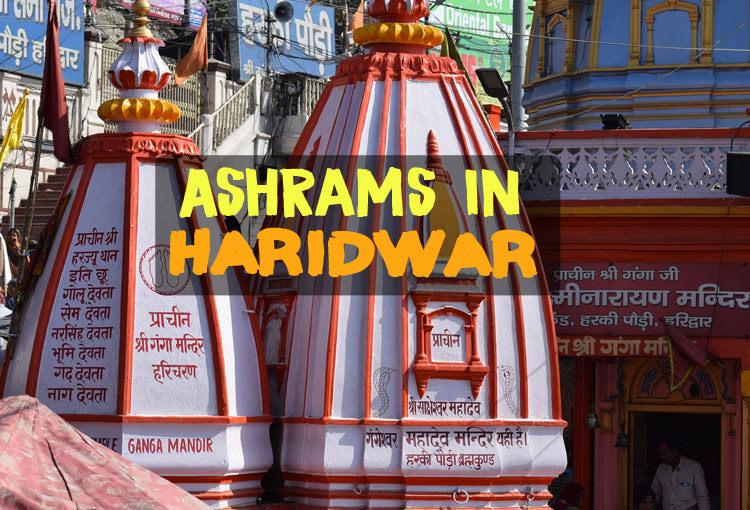 Ashrams in Hardiwar