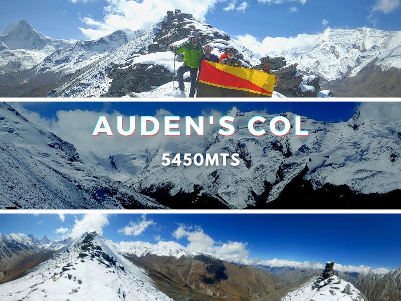 Auden's Col Trek