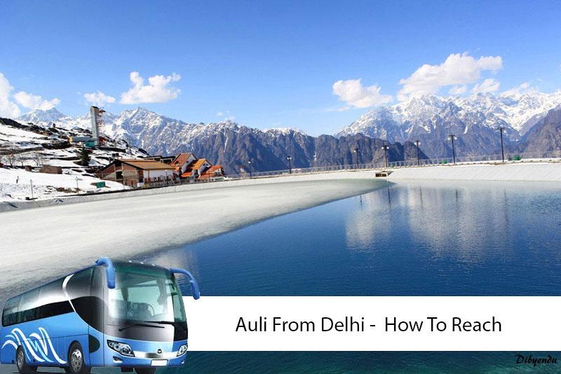 Auli From Delhi