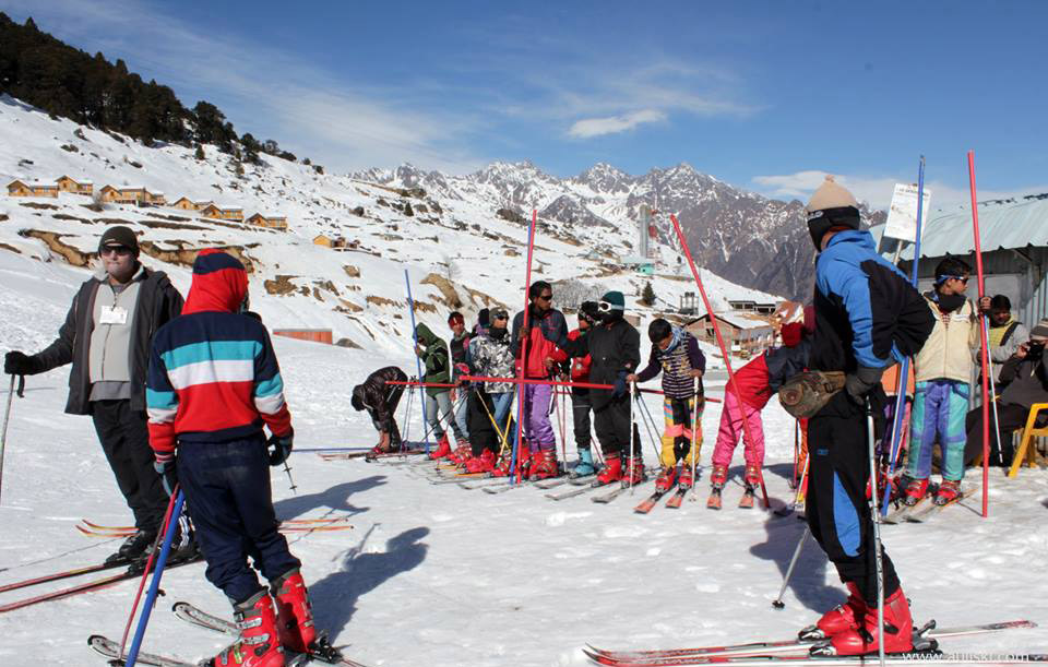 Skiing Festival in Auli