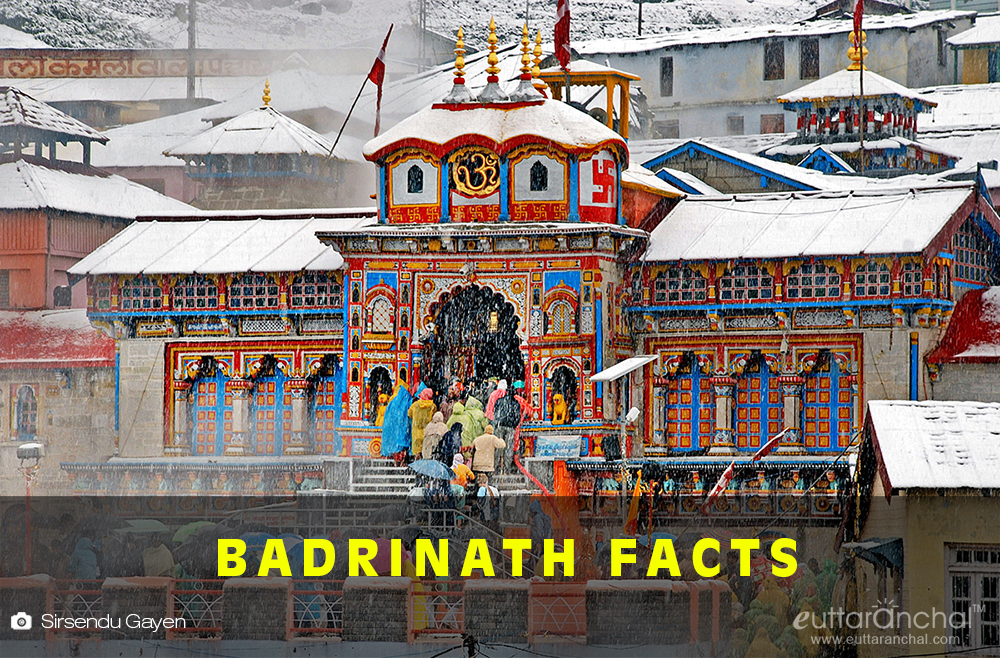 Badrinath Facts