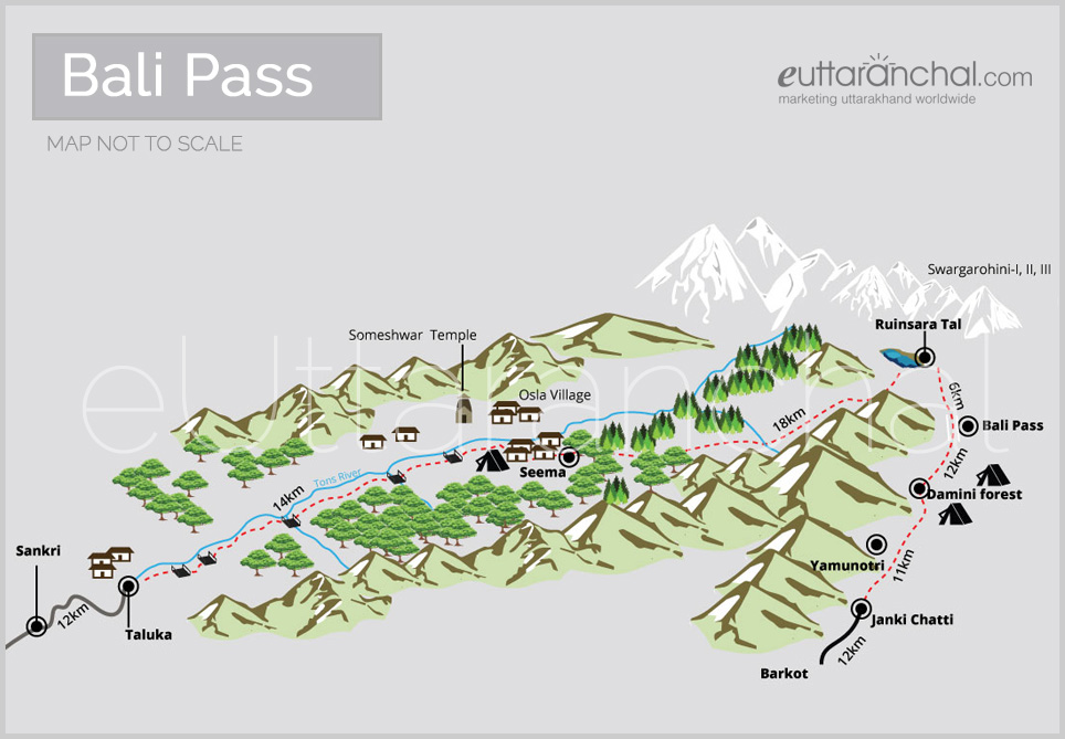 Bali Pass Tourist Map