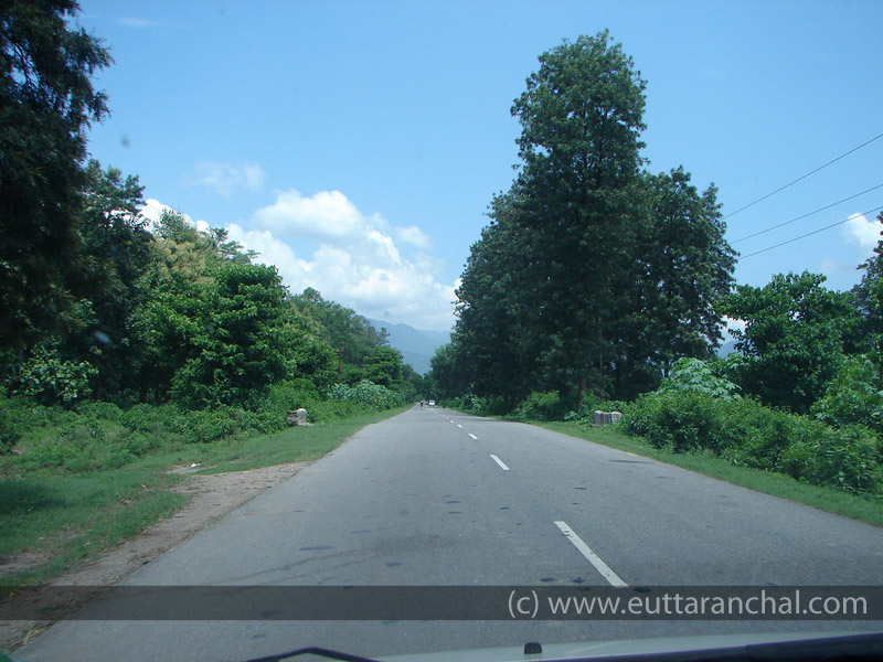 Road From Rishikesh To Chamba