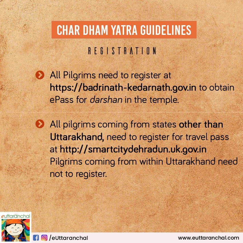 Char Dham Yatra Registration Guide