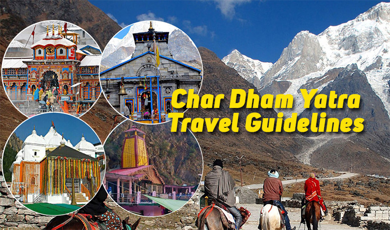 Char Dham Yatra New Guidelines! Check When & Who Can Visit? Char Dham  Registration Guide, Restrictions, News