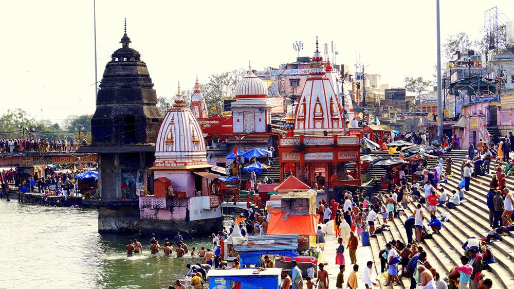 Ghats in Haridwar