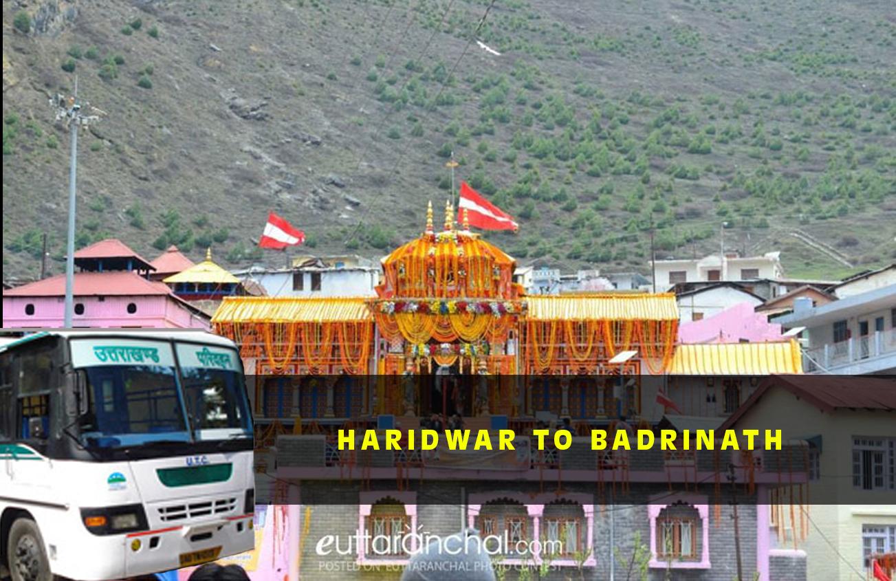 Haridwar To Badrinath
