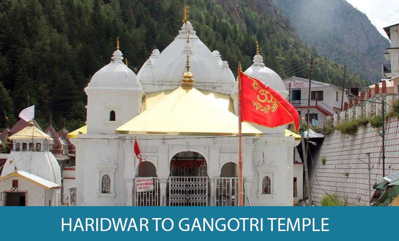 Haridwar to Gangotri