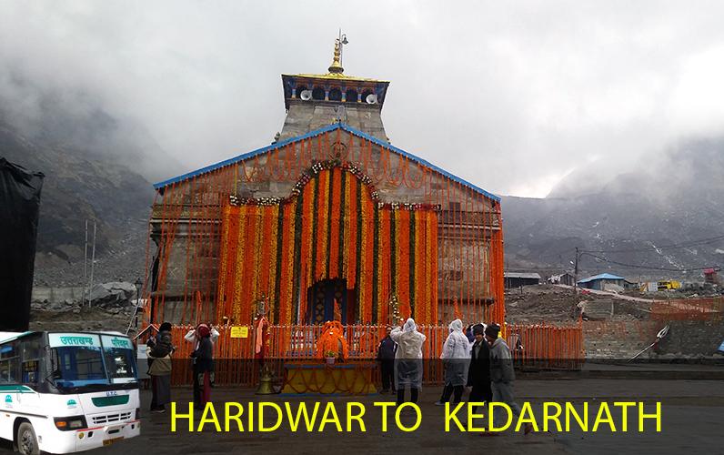 Haridwar to Kedarnath