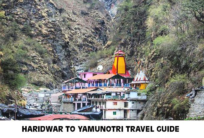 Haridwar to Yamunotri