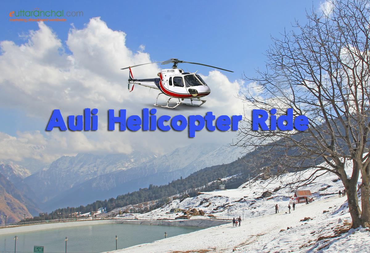 Helicopter Himalaya Darshan In Auli