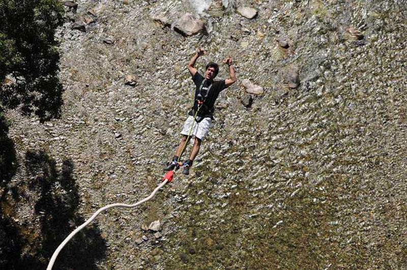 Bungee Jumping In Rishikesh Uttarakhand Tour Packages