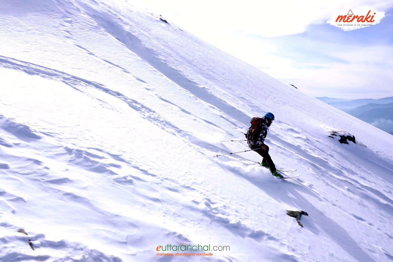 Basic Skiing Course In Kedarkantha Photos