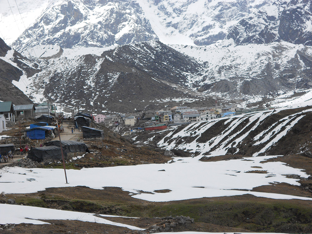 Kedarnath in Winters