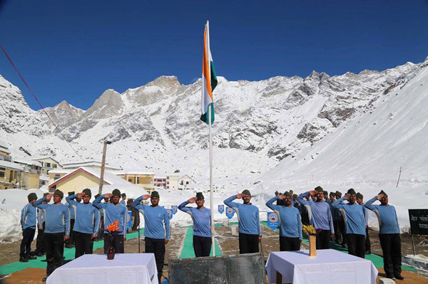 Republic Day Celebration in Kedarnath