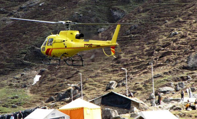 Kedarnath Dham Yatra by Helicopter From Phata  Photos