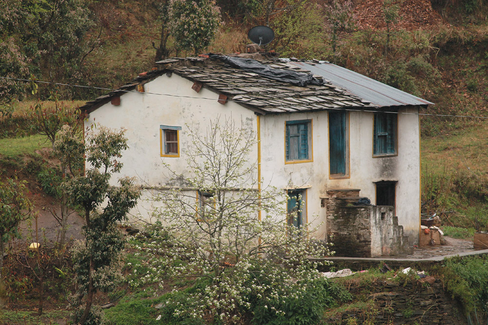 Old Traditional House Located On Gradually Developing