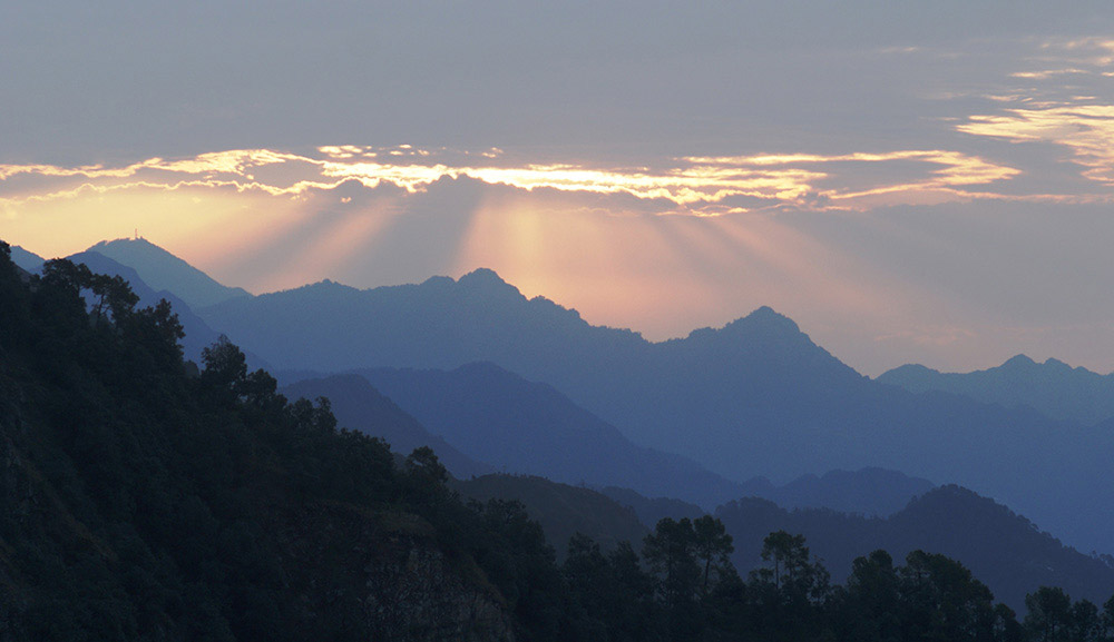 Image result for Mussoorie sunshine pic