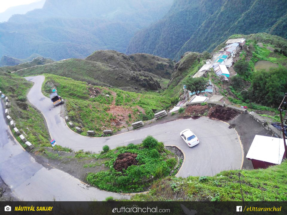 Image result for pic road to mussoorie