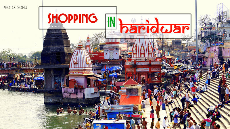 Shopping in Haridwar