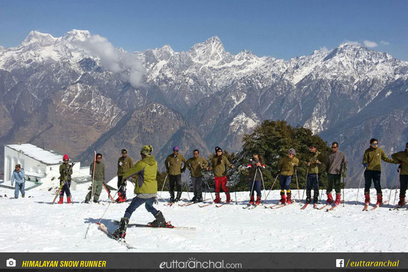 Basic Skiing Course in Auli Photos