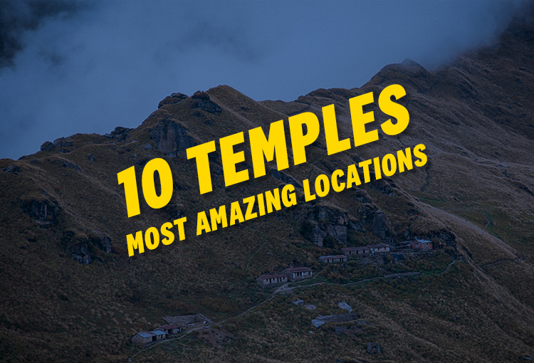 Temples with Most Amazing Locations in Uttarakhand