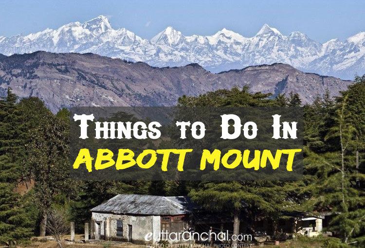 Activities in Abbott Mount