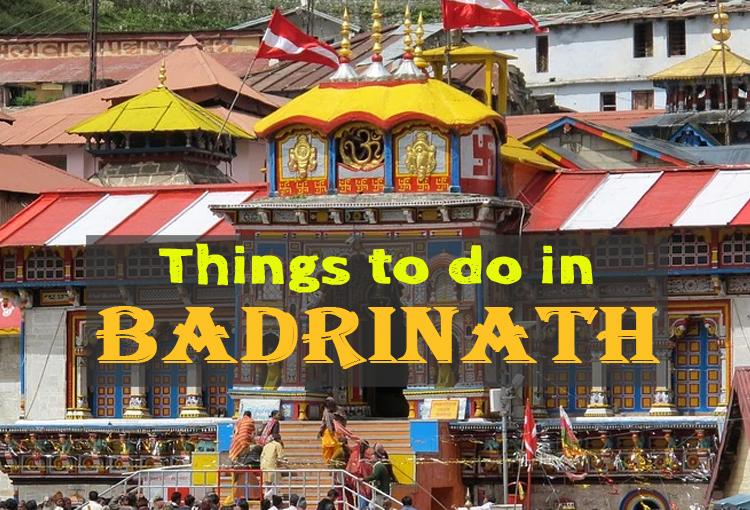 Activities In Badrinath