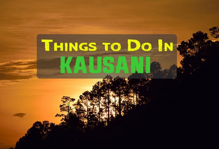 Activities In Kausani