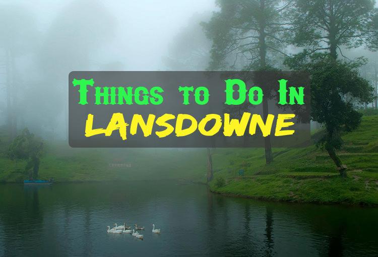 Activities In Lansdowne