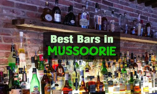 Bars in Mussoorie
