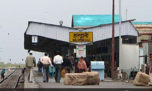 Haldwani Railway Station