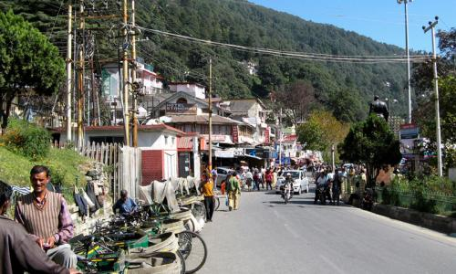 The Mall Road, Nainital