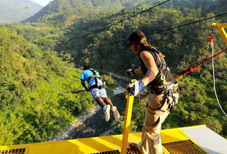 Jumpin Heights Rishikesh - Bungee Jumping By Jumping Heights