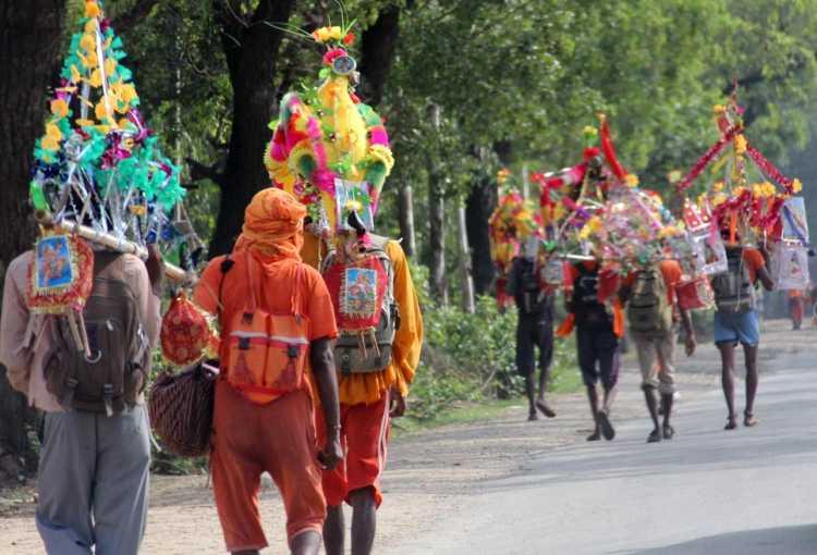 Kanwar Yatra of Saavan 2019 : Kawad Mythology, Route