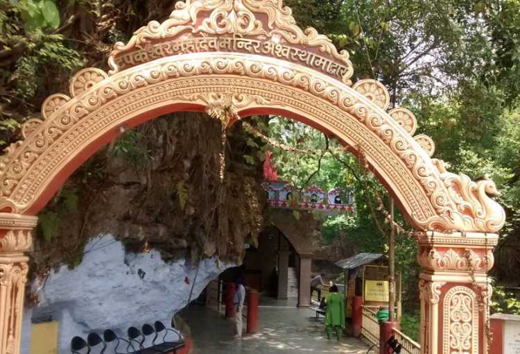 Image result for Tapkeshwar Temple dehradun